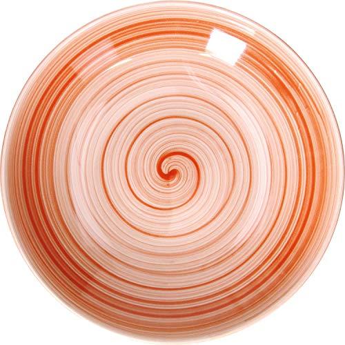 TOGNANA PORCELLANE S.P.A. CP001261053 TOGNANA »Giotto« Teller tief, coup, ø: 260 mm, rot, Porzellan