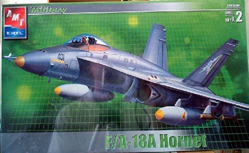 31786 AMT F a-18a Hornet 1 48 Scale Plastic Model Kit ,Needs Assembly by AMT Ertl