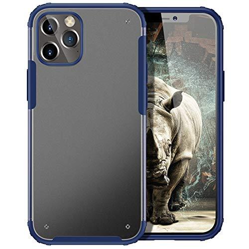 YATWIN Compatibile per Cover iPhone 12, Cover iPhone 12 PRO, Serie Antiurto con Airbag Protezione, Custodia con Paraurti Flessibile in TPU, Caso per iPhone 12/12 PRO, 6.1', Blu Navy
