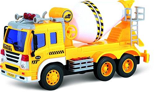ThinkGizmos Automezzo Camion Betoniera con Carica ad attrito - TG640-C – Creato (Marchio protetto)