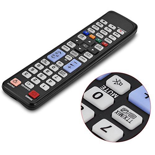 Mxzzand Controlador Control Remoto inalámbrico Universal Controlador de televisión Smart TV Control Remoto dedicado Compatible con Samsung BN59-01015A para LED LCD TV