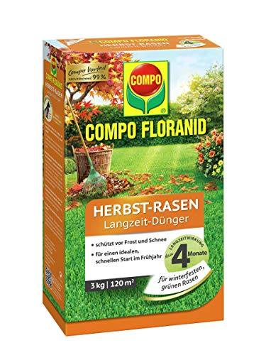 COMPO FLORANID® Herbst Rasen-Langzeitdünger 3 kg