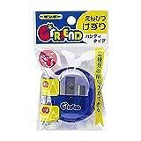 銀鳥産業 ギンポー G☆FRIEND えんぴつけずり ハンディータイプ ブルー 10個入 GF-HKBF