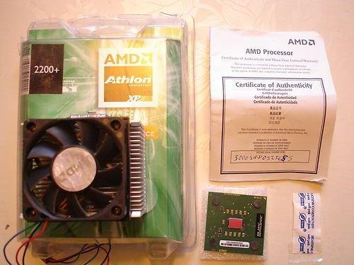 AMD Athlon XP 2200+ 384KキャッシュSocka 266MHz Core Freq 1.80GHz