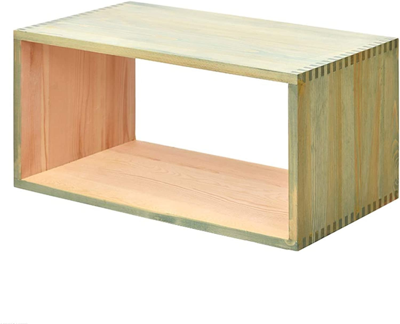 Chunlan bookshelf Solid Wood Bookcase Freedom Combination Household Shelves Floor-Standing (Size   D)
