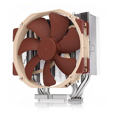 Noctua NH-U14S DX-3647, leiser CPU Kühler für Intel Xeon LGA3647 in Premium-Qualität (140mm, Braun)