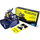 KEYESTUDIO Mini Tank Robot Upgraded V2.0 for Arduino and Mixly Blocks Coding/Support iOS/Android