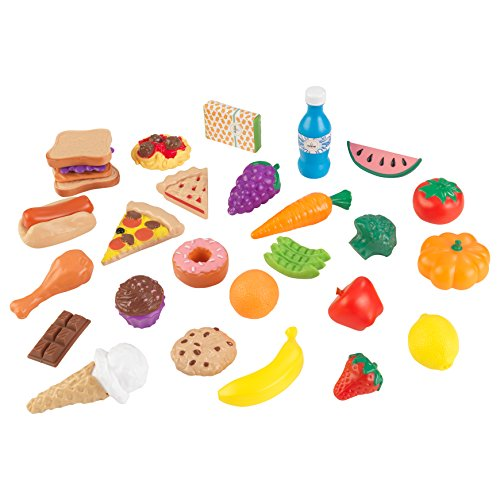 KidKraft 30Pc Pretend Play Food Set Playset