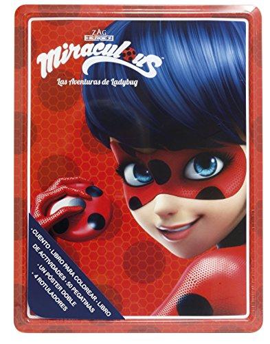 Miraculous. Las aventuras de Ladybug. Caja metálica