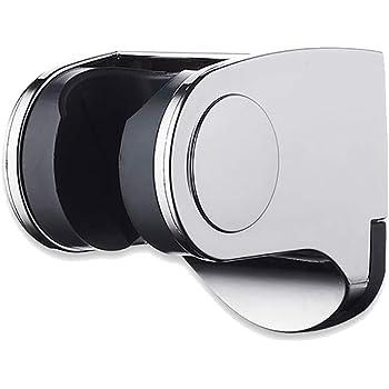 Instalar Facil 7X 5.5X 4cm OGGID Soporte de Ducha Ajustable Extra/íble Cabezal de Ducha Fijo Montado en la Pared Soporte para Telefono Ducha Sujeta Alcachofa Ducha