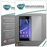 Slabo 4 x Bildschirmschutzfolie kompatibel mit Sony Xperia M2 Aqua Bildschirmfolie Schutzfolie Folie Zubehör No Reflexion MATT