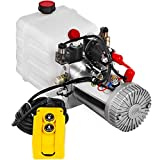 Mophorn Hydraulic Pump 3 Quart Hydraulic Power Unit Double Acting Hydraulic Pump for Dump ...