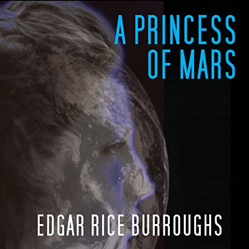 A Princess of Mars audiobook cover art