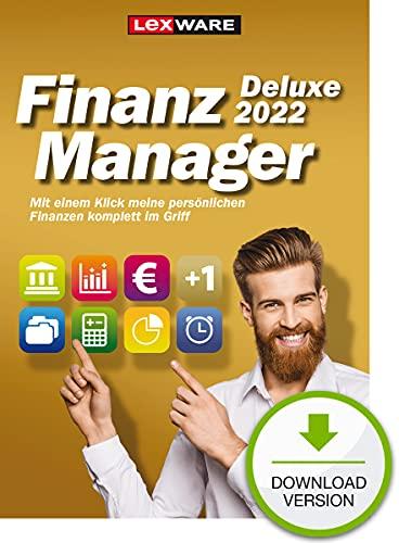 Lexware FinanzManager Deluxe 2022 Download|Einfache Buchhaltungs-Software für private Finanzen und Wertpapier-Handel | Deluxe | PC Aktivierungscode per Email