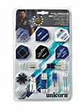 Unicorn Accessory Pack Gary Anderson World Champion, 64-teiliges Tune-Up Kit