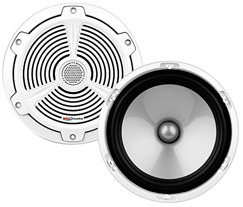 Boss Audio Systems 153-MR652C Altavoces Dos Vías 164Mm, Color Blanco