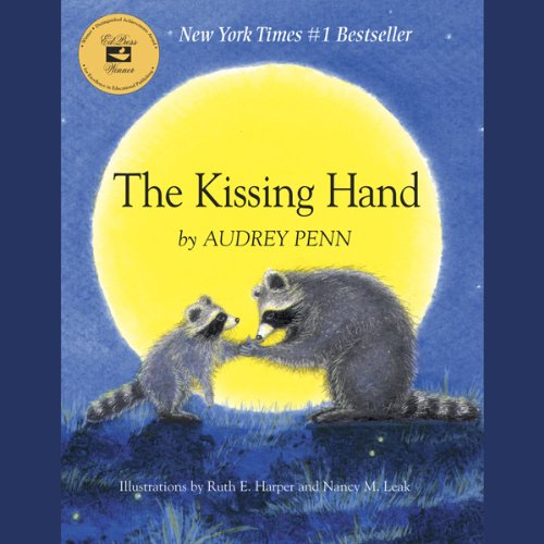 The Kissing Hand audiobook cover art