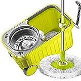 Y&XF Spin Bucket System Mop con Mango extendido 4 Cabezas de...
