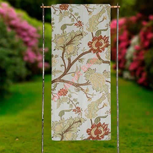 Handicraft Bazarr Colcha para cama Kantha de 152 x 222 cm