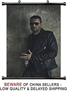 Eric Church Country Music Star Fabric Wall Scroll Poster (32 x 48) Inches