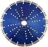 PRODIAMANT Premium Diamant-Trennscheibe Beton 250 mm x Bohrung 30mm mit Ring auf 25,4 mm PDX821.711 250mm