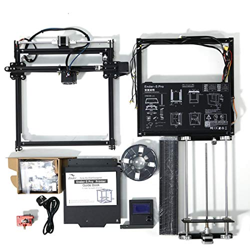 GMZS 3D Printer - DIY Logo Engraver, 220 * 220 * 300Mm Build Volume with Upgrade Silent Motherboard PTFE Tubing Extruder
