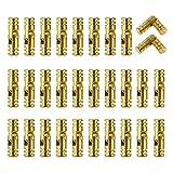 Mini Bisagras 30 Piezas Bisagras Ocultas Bisagras Ocultas para Puertas Bisagra de Latón Muebles Bisagras de Latón Ocultas Bisagras Invisibles para Bricolaje Caja de Joyería Contenedor de Organizador