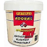 ADORAL - Pintura Tela Asfáltica Impermeabilizante - Transitable - Terrazas y Fachadas 3,5 l. ROJO