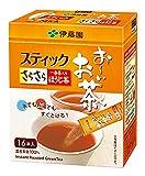 おーいお茶 さらさら一番茶入り ほうじ茶スティック 0.8X16