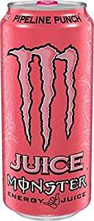 Monster Energy Juice - 6 - 16oz Cans (Pipeline Punch)