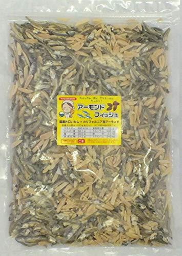 アーモンドフィッシュ 500g お徳用パック 学校給食使用原料 国産小魚 チャック付き袋