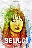 Seulgi: Red Velvet Member Color Splatter Art 100 Page 6 x 9' Blank Lined Notebook Kpop ReVeluv Merch Journal Book (Red Velvet Member Color Splatter Art Notebooks)