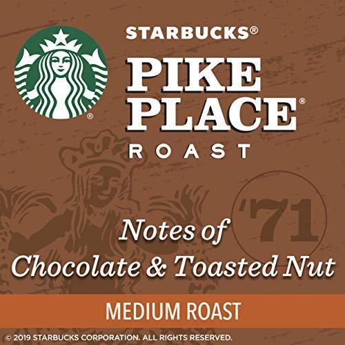 Starbucks Pike Place Roast Medium Roast Single Cup Coffee for Keurig Brewers, 32 Count
