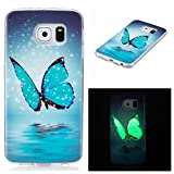 Best Protective Case For Galaxy S6s - Galaxy S6 edge Case, Firefish Luminous Noctilucent Glow Review