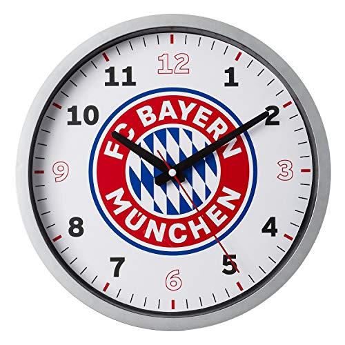 Bayern München Wanduhr, Uhr, Wall Clock kompatibel FCB - Plus Lesezeichen I Love München