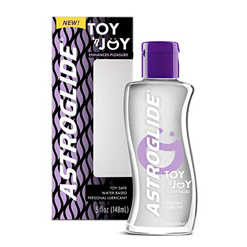 Astroglide Toy 'N Joy, Water-Based Personal Lubricant | Toy-Safe Personal Lubricant, 5 fl. oz.