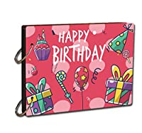 Express your thoughts and your feeling in the creative way. Creative and amazing gift ideas for love ones Each scrapbook includes 15 back color sheets that will hold 30 scrapbook pages back to back Capture the memories of your love - Unique present f...