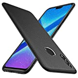 KuGi for Huawei Honor 8X Case, Scratch Resistant & Anti Slip Grippy Soft TPU Case for Huawei Honor 8X Phone (Black)