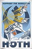 Trends International 24x36 Star Wars-Hoth Premium Wall Poster, 22.375' x 34'