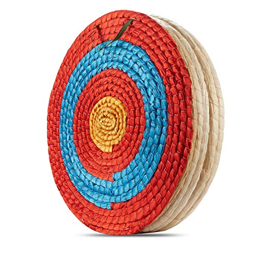 KAINOKAI Traditional Hand-made Archery Target with Arrow Puller,Arrows Target for Recurve Bow...