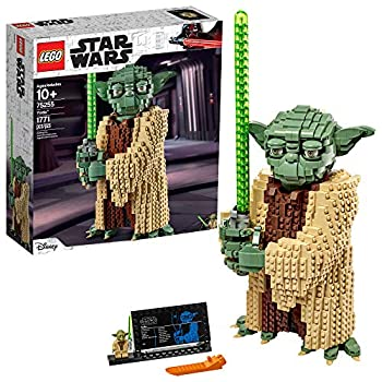 LEGO Star Wars  Attack of The Clones Yoda 75255 Yoda Building Model and Collectible Minifigure with Lightsaber  1,771 Pieces