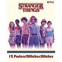STRANGER THINGS ストレンジャー・シングス (放送5周年) - Poster Book(12枚) / ポスター 【公式/オフィシャル】