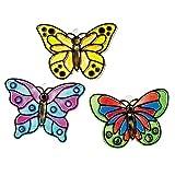 Butterfly Suncatchers Crafts (Set of 12) Bulk Craft Supplies