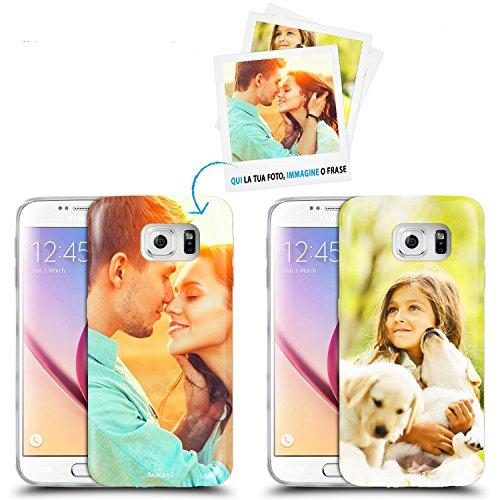 Anukku Custodia Cover Air Gel Ultra Sottile Personalizzata con la Tua Foto, Immagine o Scritta per Samsung Galaxy S5 G900F Stampa di qualità Fotografica con Mimaki