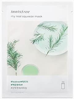 Innisfree My Real Squeeze Mask Sheet 20ml x 15pcs(tea tree)