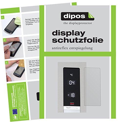 dipos I 2X Schutzfolie matt kompatibel mit Bosch KGN39XI45 Serie 6 Folie Displayschutzfolie