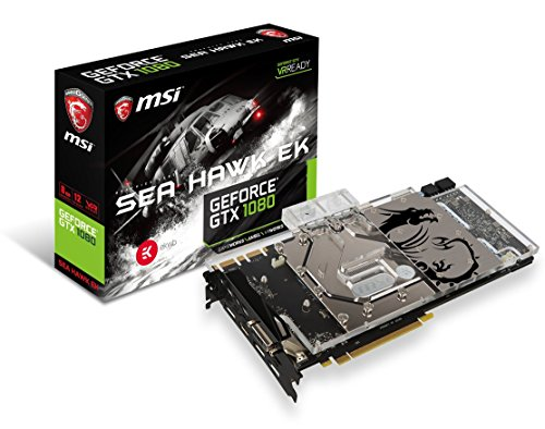 MSI Gaming GeForce GTX 1080 Sea Hawk EK X Grafikkarte8GB GDDR5DirectX 12VR Ready (GeForce GTX 1080 Sea Hawk EK X)