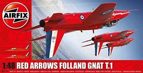 Airfix 1:48 Scale Red Arrows Model Kit by Hornby Hobbies Ltd