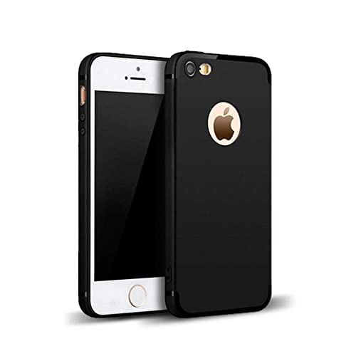 5250ae7f56 MOBILIFY Super Protection Anti-Slip Matte Finish Slim Back Case Cover for Apple  iPhone SE