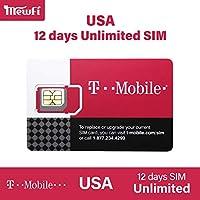 【T-Mobile】アメリカ SIMカード T-Mobile 回線利用 高速データ通信使い放題 USA ハワイ ((12日間高速データ使い放題)
